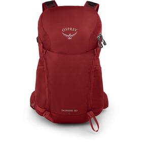 Osprey Skarab 30 Plecak Mężczyźni, mystic red